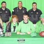 Mitchell signs with Marshall football