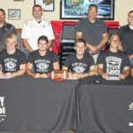 6 Raiders sign for college football