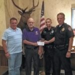 GPD receives donation for body armor