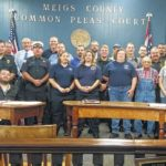 Commissioners recognize first responders, law enforcement