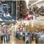 Shoppers pack downtown Pomeroy