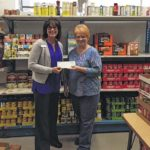 Peoples Bank donates to food bank