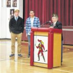 Durst, Mahr honored by American Legion