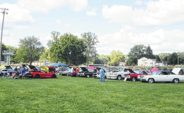 More than 70 vehicles were registered for the annual Cruisin' Saturday Night Car Show on Saturday in Racine.