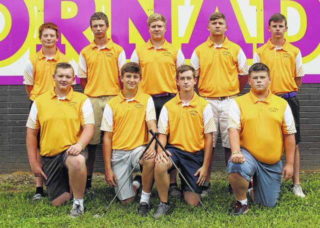 Pictured above are members of the 2017 TVC Hocking champion Southern golf team. Kneeling in the front row, from left, are David Shaver, Landen Hill, Joey Weaver and Clay Wamsley. Standing in the back row, from left, are Ryan Acree, Jarrett Hupp, Jensen Anderson, Trey Wood and Jonah Hoback.