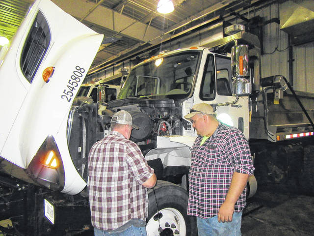 Meigs County ODOT took part in their annual winter preparedness event on Wednesday with equipment undergoing inspections and employees taking refresher courses to prepare for the upcoming winter weather.