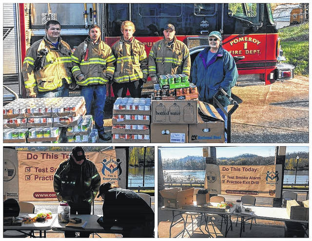 The Pomeroy Firemen's Association will hold its annual food drive on Saturday.