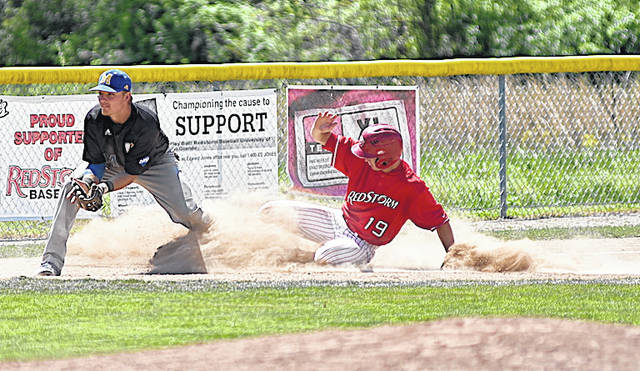 The University of Rio Grande has been tabbed third in the River States Conference Baseball preseason coaches' poll released Tuesday morning by league officials. The RedStorm picked up 64 points in the voting.