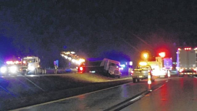 Four individuals died in a crash on US 35 and Dixon Run Road Sunday evening.