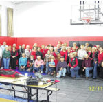 Belles and Beaus club celebrate Christmas