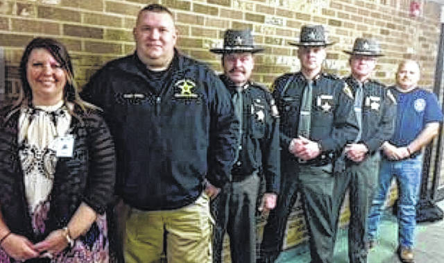 Those selected for the learning site program were Trisha Gibson, director of forensics, Captain Donnie Willis of Jackson County, Sheriff Keith Wood of Meigs County, Sheriff Matt Champlin of Gallia County, Major Scott Trussell of Meigs County, and Assistant Chief Mony Wood of the Middleport Police Department.