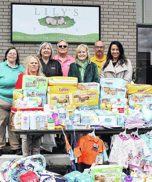 Donations made to Lily's Place as a result of Fruth Pharmacy's annual Baby Face event.