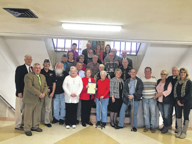 This week, Mason County Commissioners held a ceremony for Mason County Purple Heart recipients and their loved ones.