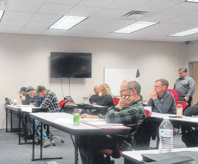 Individuals from several agencies took part in a table top exercise on Tuesday morning.