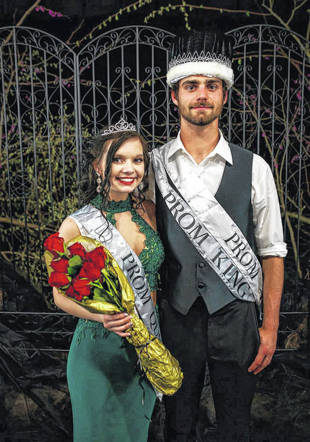 Nikita Wood and Dylan Smith were crowned as the Southern High School Prom Queen and King during Saturday evening's prom held at Southern High School.