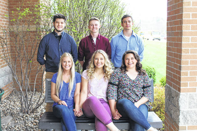 The 2018 Eastern High School Prom will be held on Saturday evening at the high school. Queen candidates are (from left) Elayna Bissell, Sidney Cook, Sophie Carleton. King candidates are (from left) Brent Johnson, Owen Arix, Brayden Holter.