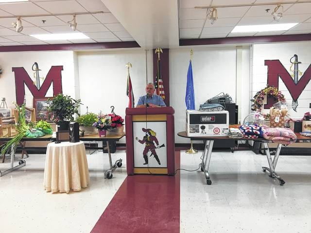 A scene from the Chester Shade Historical Association's annual banquet in 2017.