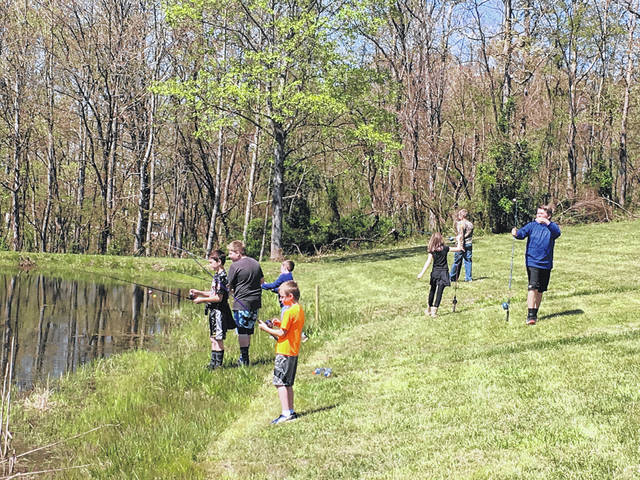 """Hooked on Fishing has made its return this spring. On Tuesday, Southern Elementary's fifth graders were at Kountry Resort Campground enjoying a day of fishing and talking with Meigs County Sheriff Keith Wood about being """"hooked"""" on positive activities through their lives."""
