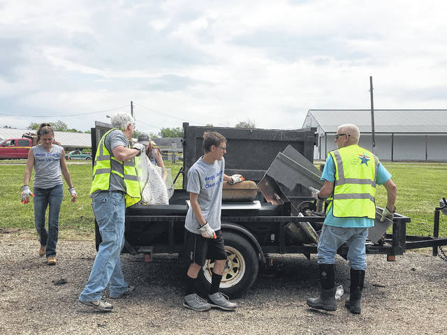 Individuals who participated were able to get rid of tires, electronics and many other items at no cost.