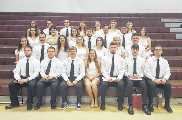Graduates from the Meigs High School received more than $265,000 in scholarships during Wednesday's Senior Awards Ceremony. Pictured are the scholarship recipients. A list of the scholarship recipients appears in the article.