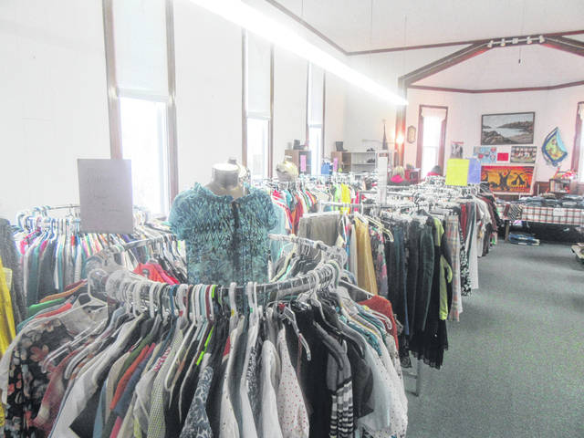 A range of items are available at the Carmel-Sutton New 2 U Thrift Store.