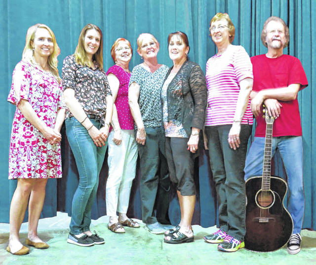 The MPAC board members pictured from left to right are Amy Perrin, Jessica Holliday, Cathy Erwin, Penny Mullen, Celia McCoy, Mary Gilmore, and Roger Gilmore. The next place folks might see MPAC is at the Rhythm on the River events selling concessions.