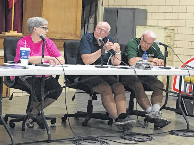 George Hoffman has stepped down as a Middleport Village council member due to health reasons.