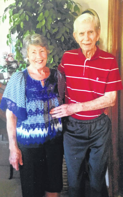 Mr. and Mrs. Roy Jarvis, of Cheshire, celebrated their 66th wedding anniversary on June 14. They were married on June 14, 1952 in Gallipolis. They have two children, Ronnie (Suzi) Jarvis, of Cheshire, and the late Debbie Coup. Grandchildren are Debra (Josh) King of Polk City, Fla., and Jason (Andrea) Jarvis, of Lancaster. Great-grandchildren are Emma, Ethan and Aubrey King of Polk City, Fla., and Holden and Hudson Jarvis of Lancaster. Roy is a retired truck driver and Clarice is a homemaker.