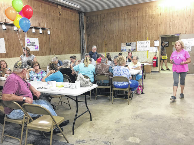 Dozens of people attended the 40th annual Salem Township Ice Cream Social on Saturday.