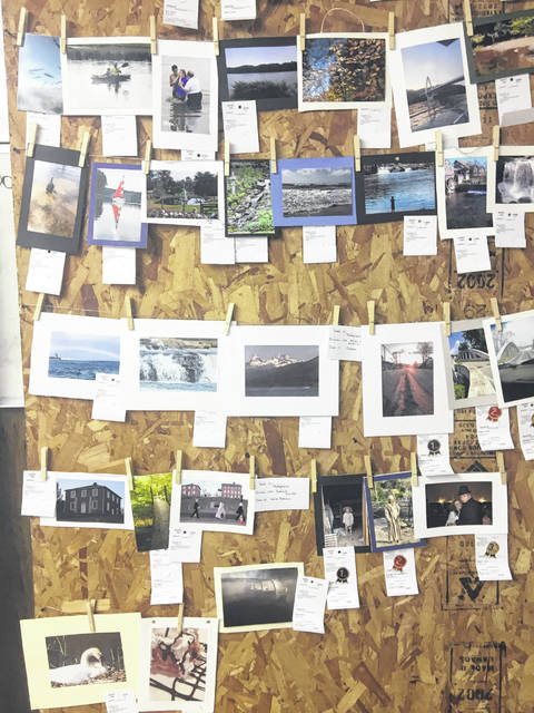Photographs were on display during the Meigs County Fair.