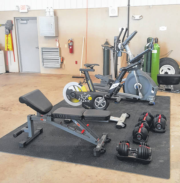 Fitness equipment is now available at Meigs County EMS for use by county employees.