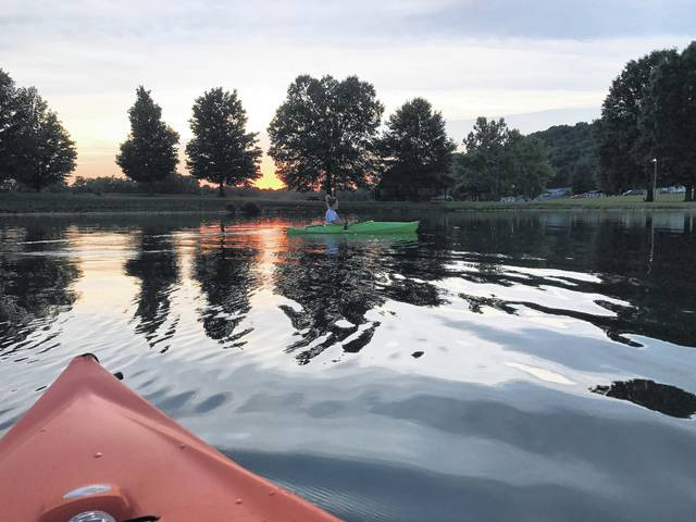 """Kayakers of all ages and skill levels will be able to partake in the second annual """"Paddle Battle"""" kayak race at Krodel Park."""