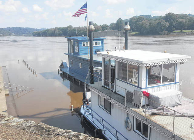 The first sternwheelers arrived on Thursday for the annual Pomeroy Sternwheel Regatta. While elevated river levels kept the boats away, the water is going down which will allow for the boats to dock along the riverfront.