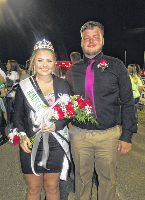MacKenzie Smith was crowned the 2018 Eastern High School Homecoming Queen. Smith is pictured with her escort John Harris.