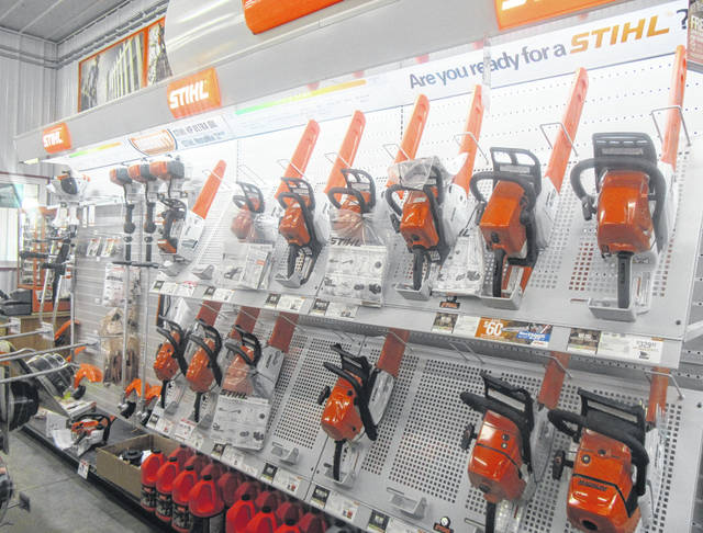 Dettwiller True Value Hardware recently opened its new store in Pomeroy. The store includes an expanded offering of many products, including Stihl products.