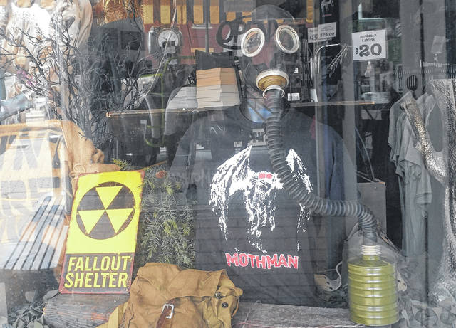 The Mothman Museum has recently changed out some of its store decor to fit the theme of the Fallout 76 video game which is anticipated to launch in November.