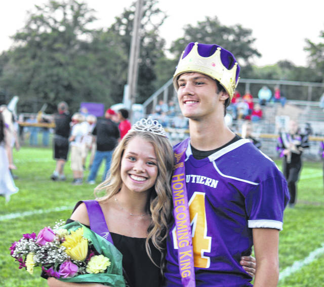 Peyton Anderson was crowned the 2018 Southern High School Homecoming Queen and Weston Thorla the 2018 Southern High School Homecoming King before Friday evening's Homecoming football game at Southern. The royalty were crowned by 2017 Queen Nikita Wood.