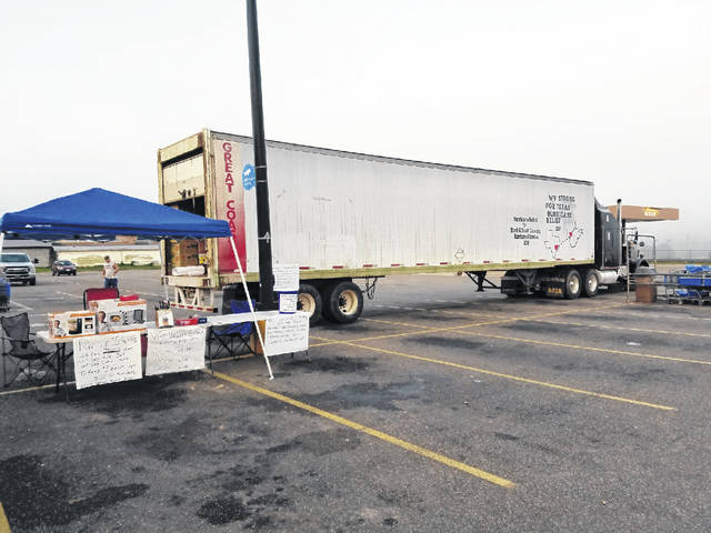 WV Strong Hurricane Relief has been setting up at different locations within the area to pick up donations for victims of Hurricane Florence.