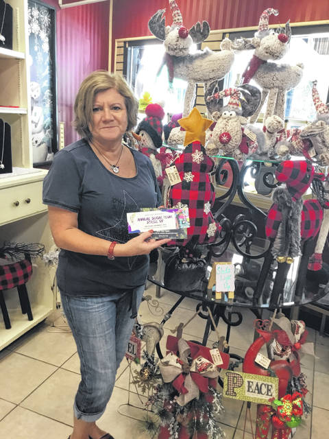 Kathy Bowser was the first one to purchase a VIP ticket for the upcoming Sugar Plum Stroll.