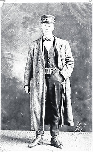 Orville Wallace of Middleport, a conductor on a streetcar.
