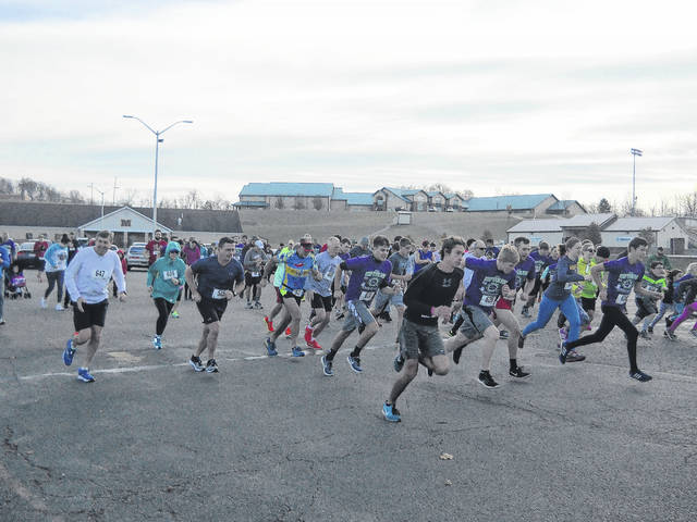 Last year, a total of 128 runners and walkers participated in this annual race.