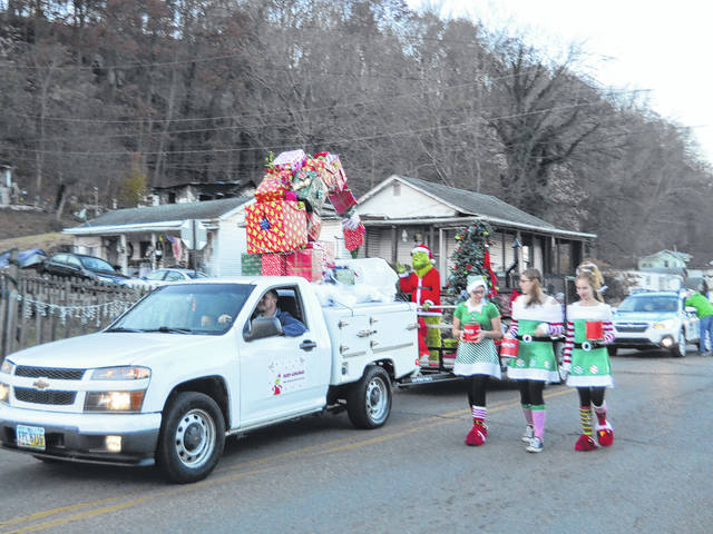 The Middleport Christmas Parade will be held on Saturday, Dec. 1.
