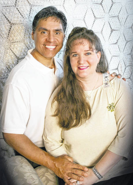 Together as a family Jerry and Sarah Garcia travel to share their testimony with audiences across the country.