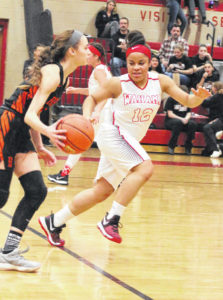 Belpre outlasts Lady Falcons, 52-45