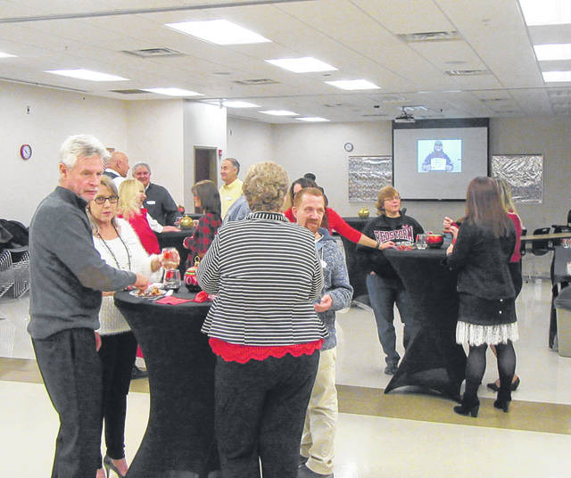 Dozens of people gathered on Friday evening to celebrate the 10th anniversary of the Rio Grande Meigs Center.