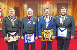 Lodge installs new officers