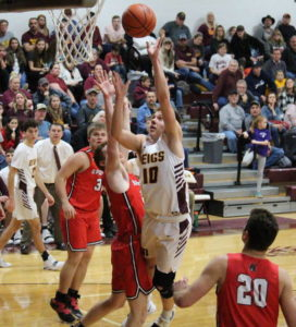 Alexander rallies past Marauders, 54-41