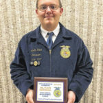 Local FFA member competes at state competition