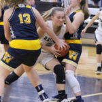 Lady Rockets sweep River Valley, 63-36