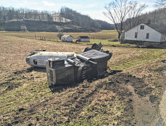 A truck wreck on State Route 681 on Wednesday afternoon temporarily closed the roadway. No injuries were reported. Responding to the scene included the Pomeroy Volunteer Fire Department, Meigs County EMA and EMS, Meigs County Sheriff's Office, Ohio Department of Transportation and Ohio State Highway Patrol.